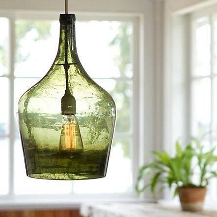 Demijohn Pendant Lamp – Terrain For Demijohn Pendant Lights (#9 of 15)