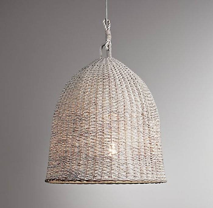 Design Sleuth: 6 Summery Natural Fiber Pendant Lights – Remodelista Pertaining To Rattan Pendant Lighting (#9 of 15)