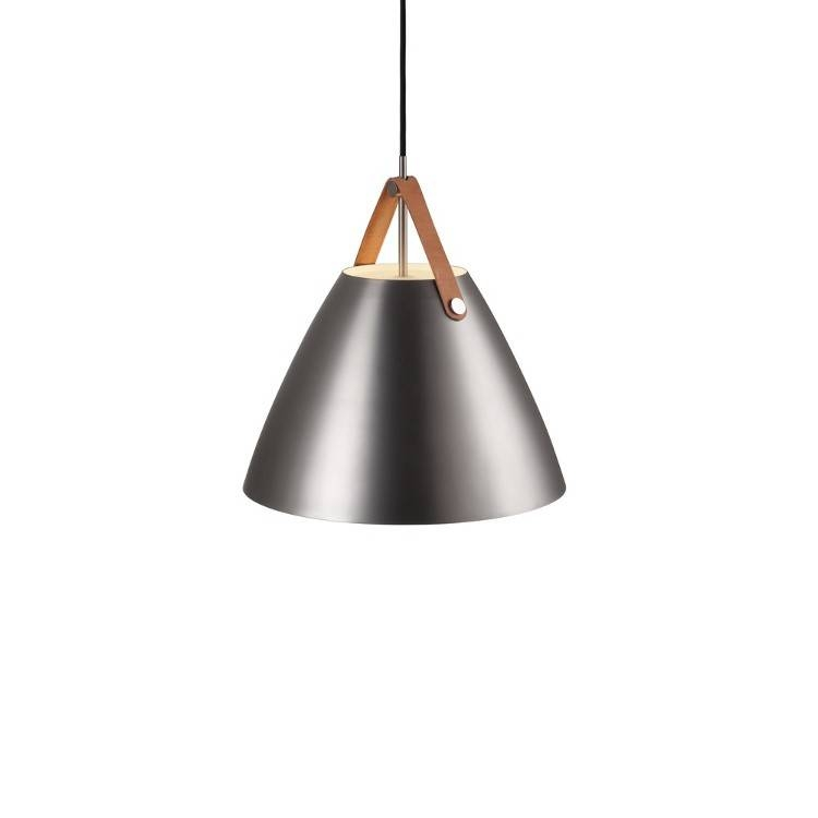 Dftp Nordlux Strap 36 Ceiling Pendant Light – Brushed Steel Within Brushed Steel Pendant Lights (#3 of 15)