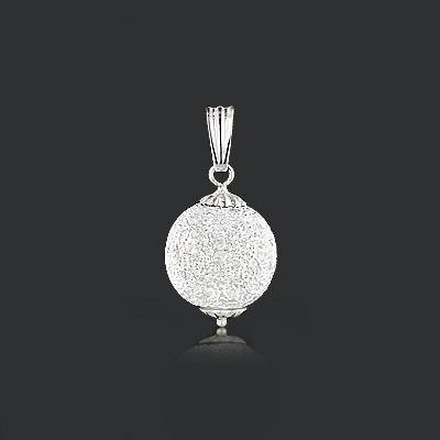 Diamond Disco Ball Pendant (View 11 of 15)