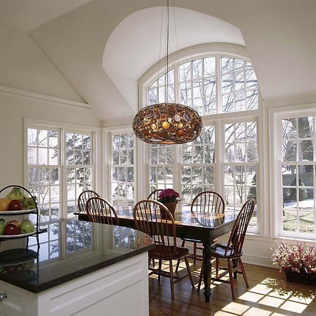 Dining Room Pendant Lighting Ideas & Advice At Lumens With Pendant Lighting With Matching Chandeliers (#9 of 15)