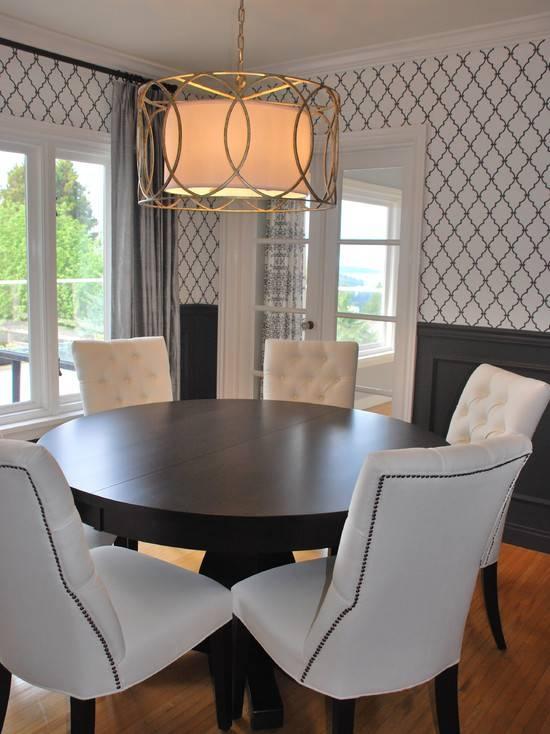 Dining Room Wainscoting – Traditional – Dining Room – Pratt And Regarding Troy Sausalito Pendants (View 15 of 15)