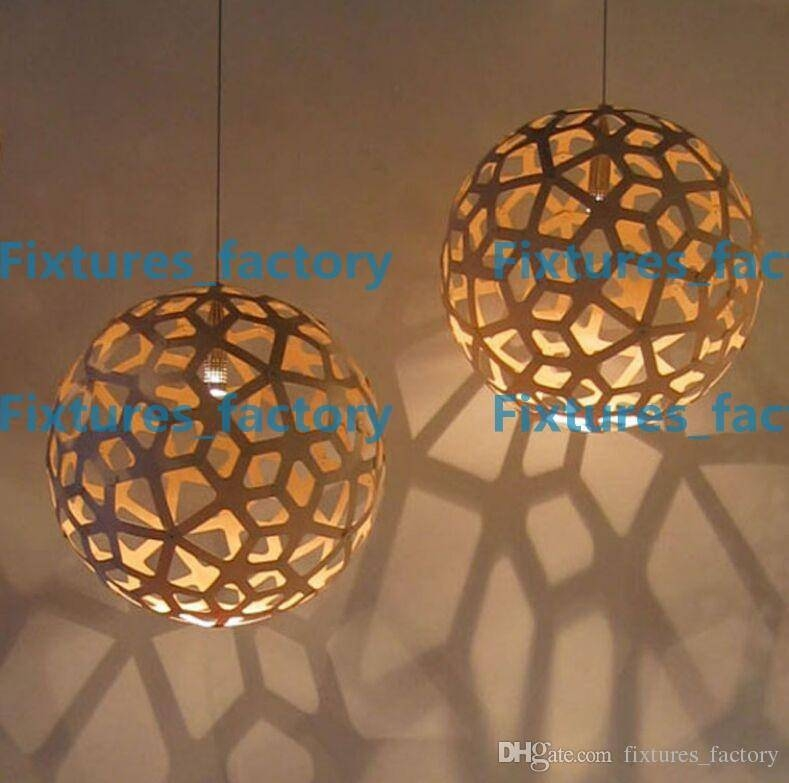 Discount David Trubridge Coral Pendant Lamp Wood Pendant Light With Regard To David Trubridge Coral Pendants (#9 of 15)