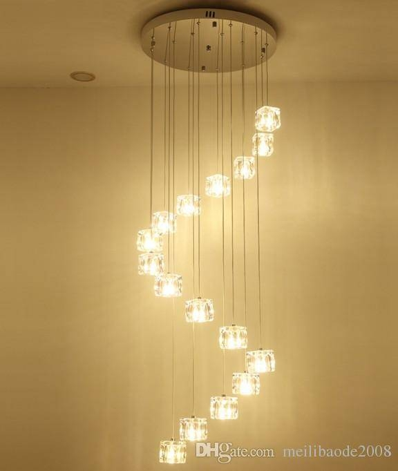 Discount Hotel Stairway 1 5M Extra Long Light Fishing Hanging With Extra Long Pendant Lights (#8 of 15)