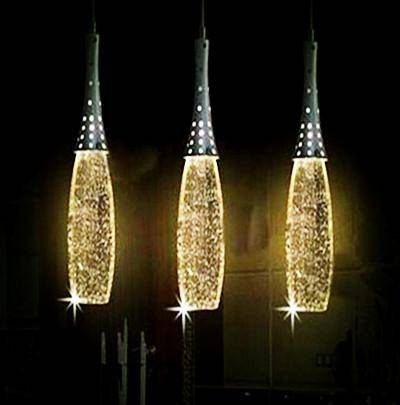 Discount Modern Led Crystal Light Maggic Bubble Crystal Pendant Throughout Crystal Pendant Lights (View 2 of 15)