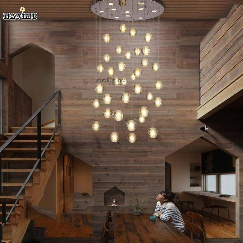 Beautiful Inspiration About Discount Modern Led Crystal Pendant Lights Fixtures Magic  Crystal In Stairwell Lighting Pendants (