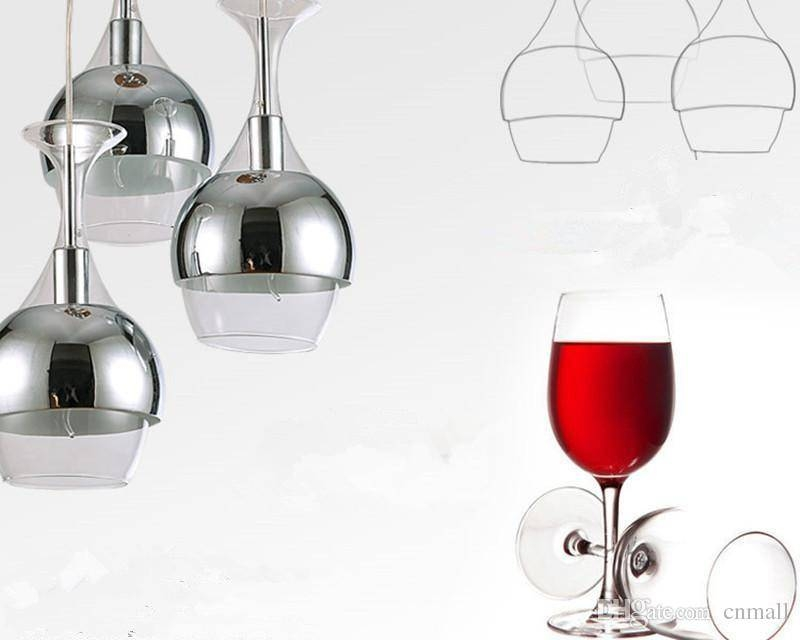 Discount New Arrival Wine Glass Chandeliers Pendant Light Hanging With Regard To Wine Glass Pendants (#7 of 15)