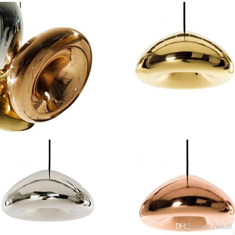 Discount Tom Dixon Void Pendant Lamp Void Light Copper/silver/gold With Regard To Discount Mini Pendant Lights (View 5 of 15)