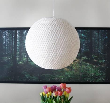 Diy Crocheted Pendant Lamp (#5 of 15)