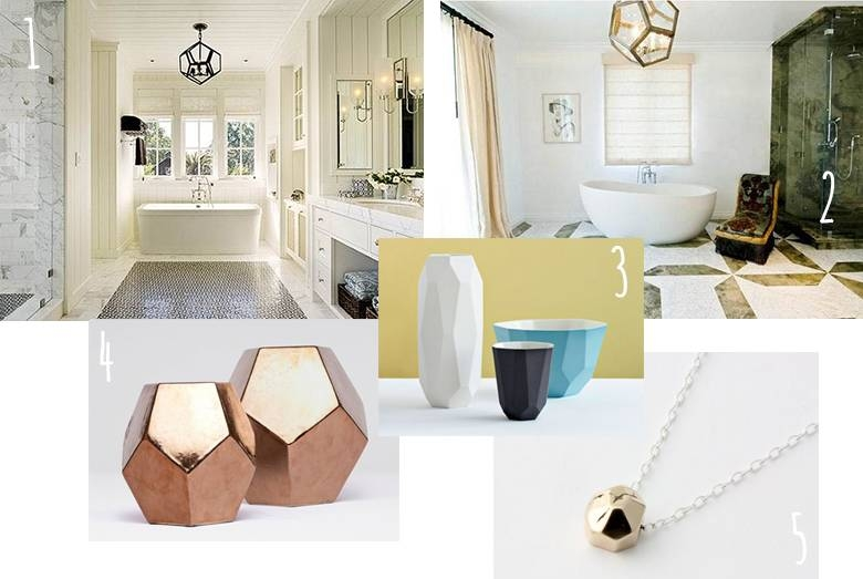 Diy Dodecahedron Pendant Light {And An Announcement!!} For Dodecahedron Pendant Lights (#2 of 15)