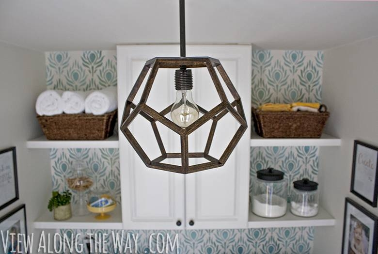 Diy Dodecahedron Pendant Light {and An Announcement!!} Pertaining To Dodecahedron Pendant Lights (View 1 of 15)