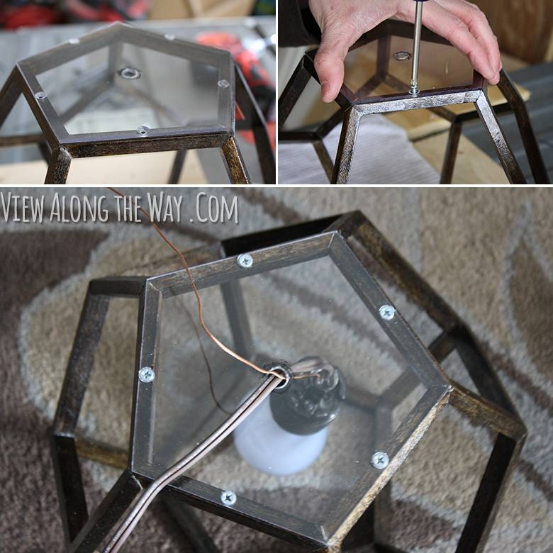 Diy Dodecahedron Pendant Light {and An Announcement!!} Within Dodecahedron Pendant Lights (View 12 of 15)