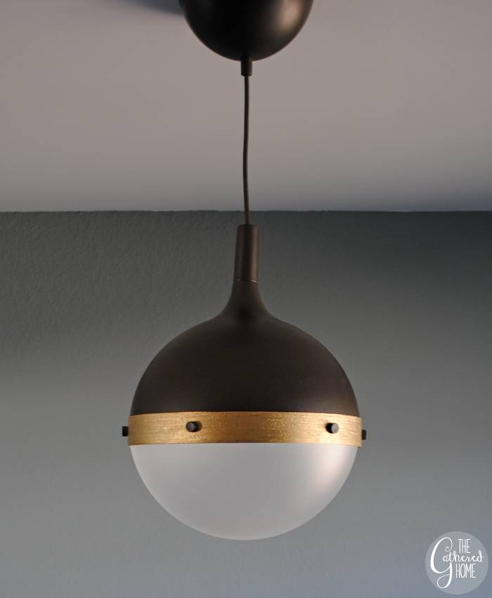 "Diy Ikea Hack ""Hicks"" Pendant Light – The Gathered Home Throughout Ikea Pendant Lights Fixtures (View 2 of 15)"