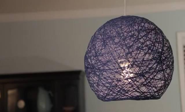 Popular Photo of Diy Yarn Lights