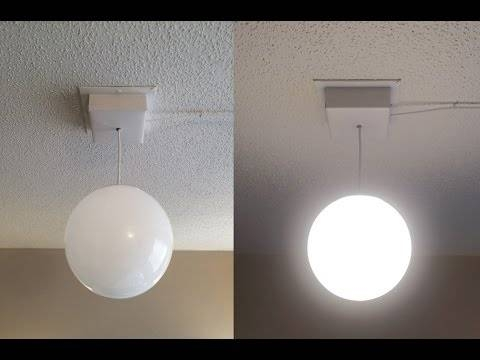 Diy Plug In Ceiling Light Fixture – Youtube With Regard To Plugin Ceiling Lights (#8 of 15)