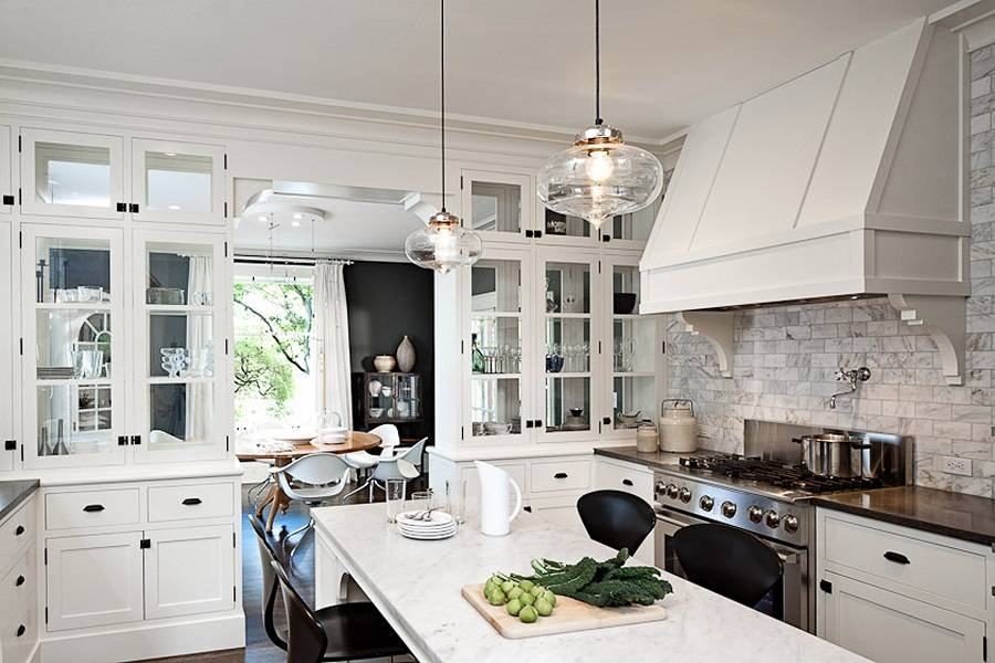 Double Pendant Light Globes : Pendant Light Globes Over Kitchen With Regard To Double Pendant Kitchen Lights (#8 of 15)