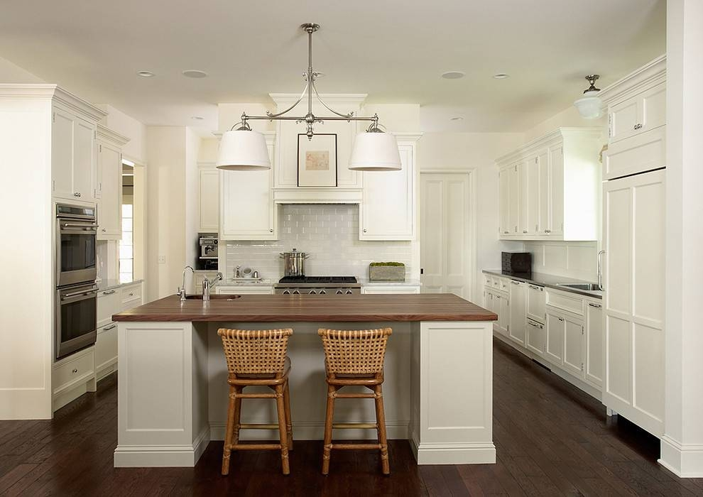 Double Pendant Light Kitchen Traditional With Bistro Chairs Within Double Pendant Kitchen Lights (#12 of 15)