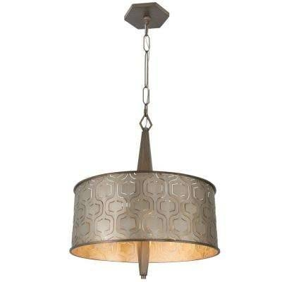 Drum – Bronze – Brown – Pendant Lights – Hanging Lights – The Home Pertaining To Brown Drum Pendant Lights (#6 of 15)