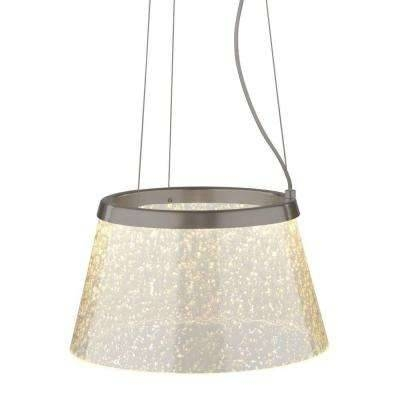 Drum – Pendant Lights – Hanging Lights – The Home Depot For Drum Pendant Lighting (#3 of 15)