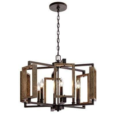 Drum – Pendant Lights – Hanging Lights – The Home Depot Pertaining To Drum Pendant Lighting (#5 of 15)