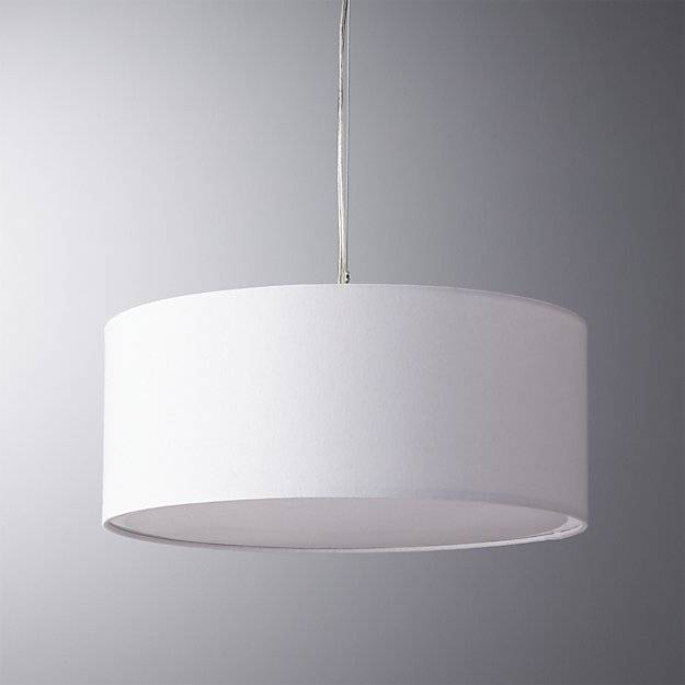 Eden White Pendant Light | Cb2 Pertaining To Cb2 Pendant Lighting (#5 of 15)