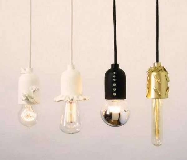 Elegant Bare Bulb Fixtures : Shine Labs Solo Pendant Regarding Exposed Bulb Pendants (#5 of 15)