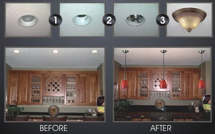 Elegant Convert Recessed Light To Pendant Tutorial How To Convert Inside Recessed  Lights To Pendant ( - 15 Photo Of Recessed Lights To Pendant