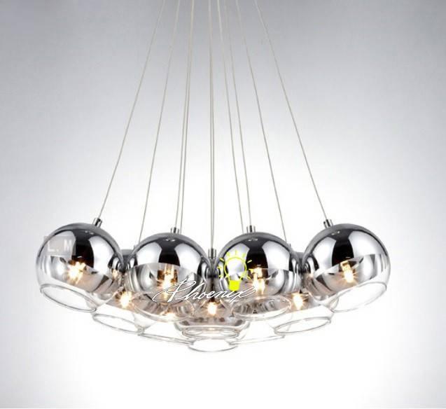 Elegant Glass Ball Pendant Light Glass Ball Light Pendant Soul With Glass Orb Lights (#7 of 15)