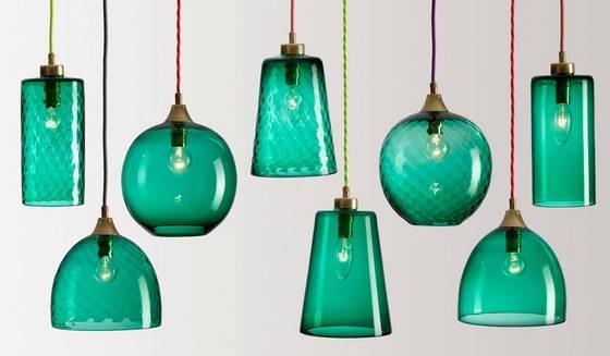 Enchanting Green Pendant Lights Pendant Light Fixture Industrial In Green Glass Pendant Lighting (#3 of 15)