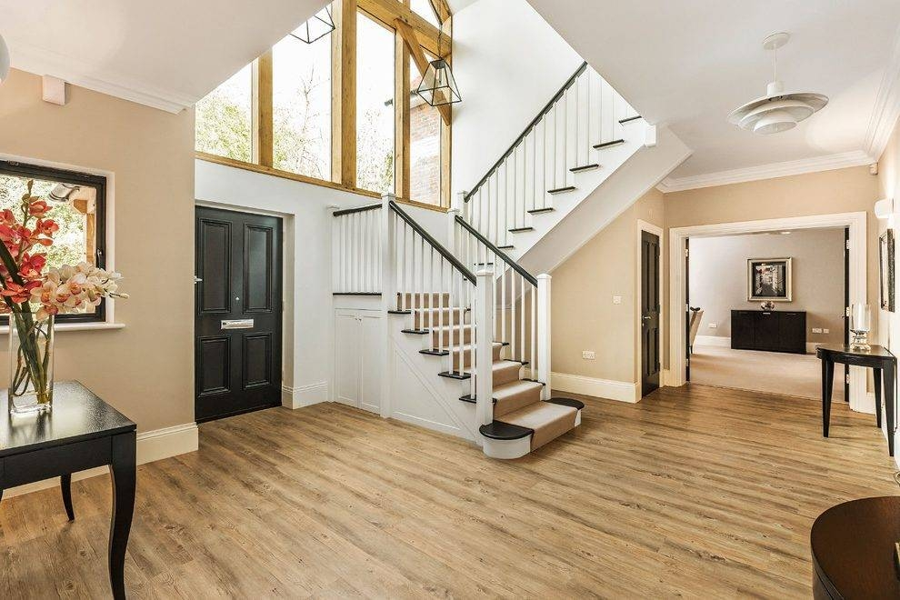 Entrance Hall Staircase Traditional With Hallway Industrial With Regard To Entrance Pendant Lights (#9 of 15)