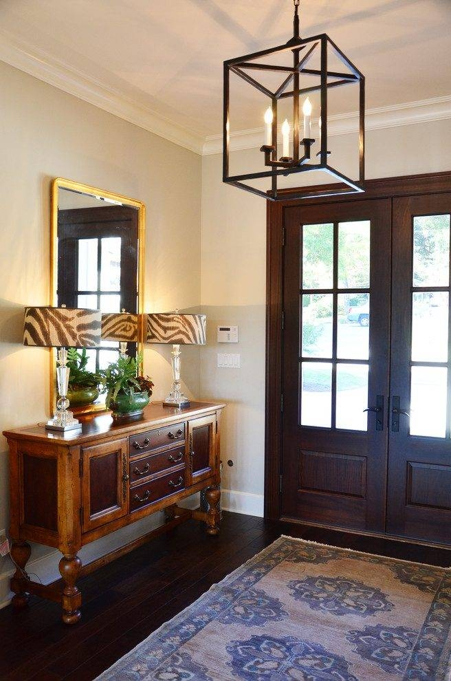 Entry Hall Lighting Ideas Entry Contemporary With Entry Bench Pertaining To Entry Hall Pendant Lighting (View 15 of 15)