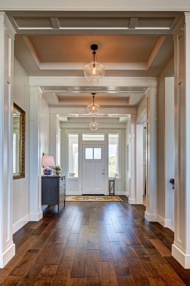 Entry Hall Lighting Ideas Entry Traditional With Glass Pendant Intended For Entry Hall Pendant Lighting (View 5 of 15)