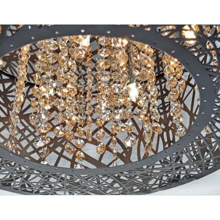 Et2 E21308 10bz Inca 9 Light Pendant In Bronze – Homeclick For Et2 Inca 9 Lights Pendants (View 9 of 15)
