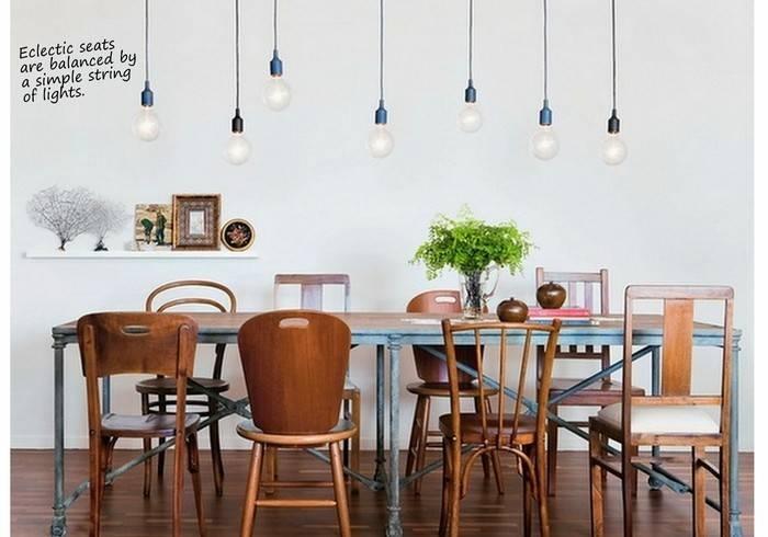 Exposed Bulb Lighting In Interiors | Design Lovers Blog Intended For Exposed Bulb Pendant Track Lighting (View 4 of 11)