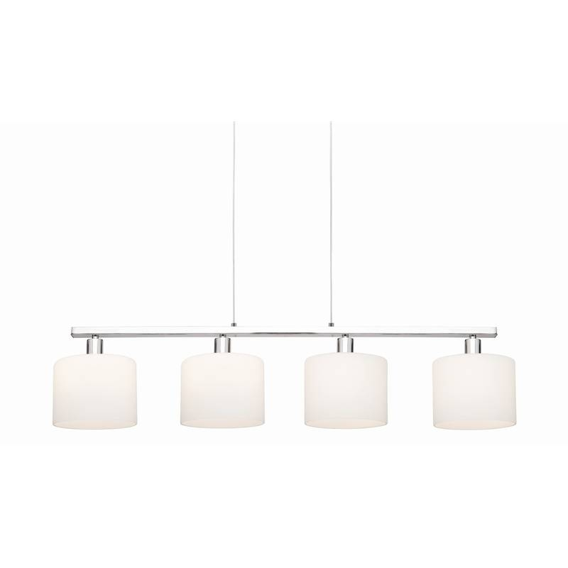 Fabulous 4 Light Pendant Fixture Mercator Scanlan Brushed Chrome 4 With Mercator Pendant Lights (#5 of 15)