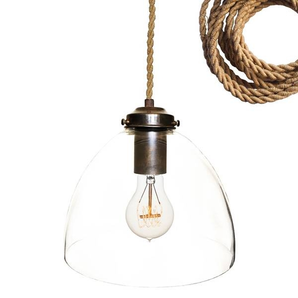 Fancy Rope Pendant Light Clear Glass Rope Pendant Light Shades Of In Fancy Rope Pendant Lights (View 9 of 15)