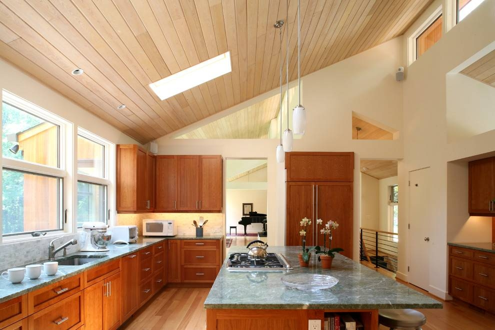 Fantastic Ideas For Wooden Ceiling Lights | Lighting Designs Ideas In Pendant Lights For Sloped Ceilings (#5 of 15)