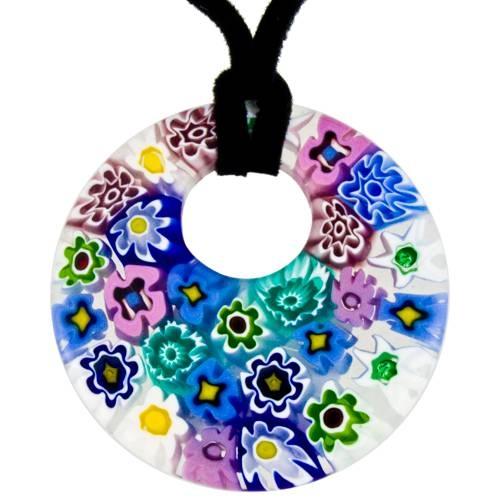Faro Murano Glass Pendants In Stock At Murano Jewellery Intended For Venetian Glass Pendants (#4 of 15)