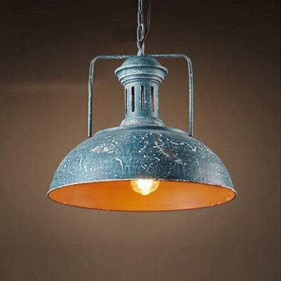 Fashion Style Blue, Pendant Lights Industrial Lighting Intended For Pale Blue Pendant Lights (#9 of 15)