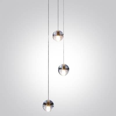 Fashion Style Multi Light Pendants – Beautifulhalo Regarding Glass Orb Lights (#9 of 15)