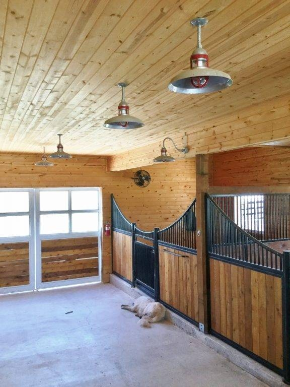 Featured Customer | Barn Lights Combine Up & Down Lighting For For Galvanized Pendant Barn Lights (#8 of 15)