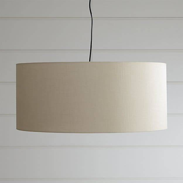 Finley Large Wheat Pendant Light | Crate And Barrel Within Crate And Barrel Shades (#6 of 15)