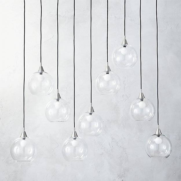 Firefly Ii Globe Light Pendant   Cb2 Pertaining To Cb2 Lighting Pendants (View 7 of 15)