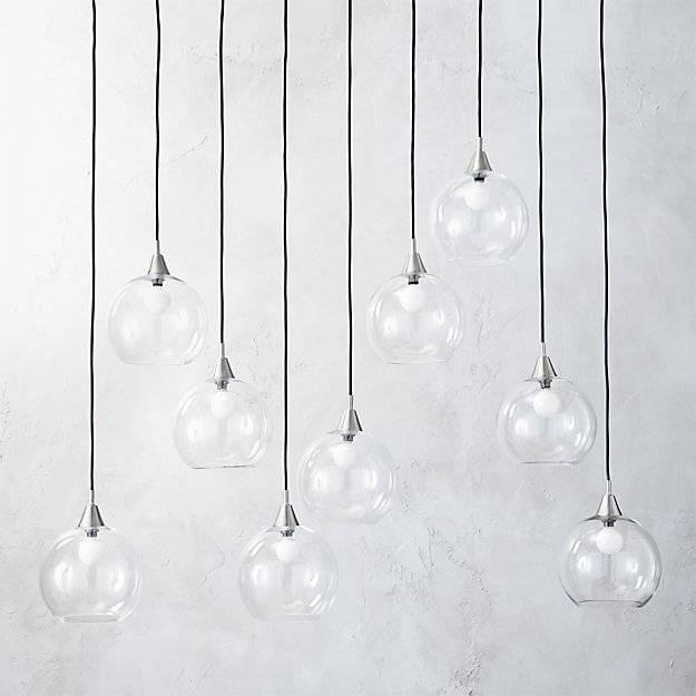 Firefly Ii Globe Light Pendant | Cb2 Regarding Cb2 Pendant Lights (View 3 of 15)