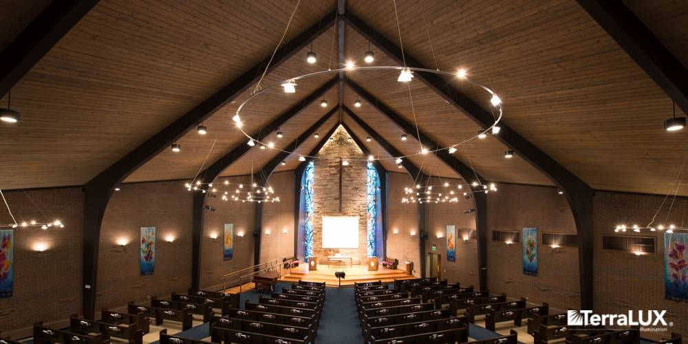 Church Ceiling Lighting Fixtures Terralux Takes Its Led