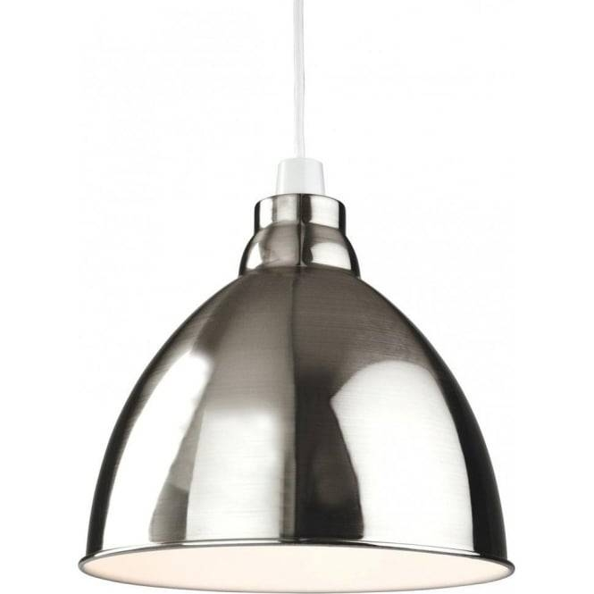 Firstlight Union Easy Fit Ceiling Light Pendant Shade In A Brushed Pertaining To Easy Fit Pendant Lights (#9 of 15)
