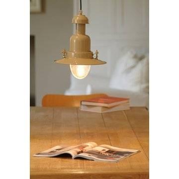 Fisherman's Pendant Fishing Lamp – Cream Pendant Fishing Light With Regard To Pendant Fishing Lights (#9 of 15)