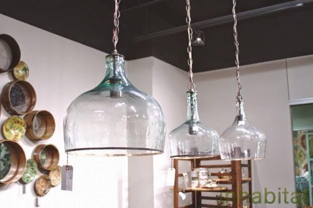 Fleachic: Flea Market Savvy With Regard To Glass Jug Lights Fixtures (View 11 of 15)