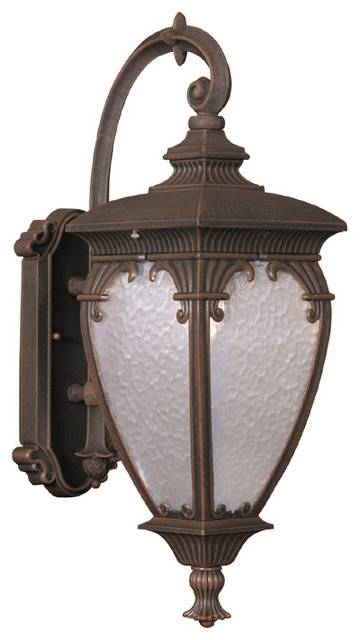 Fleur De Lis Medium Top Mount Exterior Wall Light Fixture, Black For Fleur De Lis Lights Fixtures (#9 of 15)