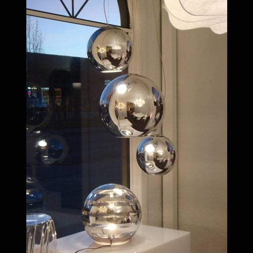 Fontanaarte Globo Di Luce Lamp Pendant Lamp | Stardust Throughout Disco Ball Ceiling Lights Fixtures (#9 of 15)